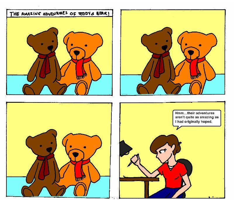 Teddy and Bear